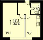 Дизайн квартиры в доме ii-68